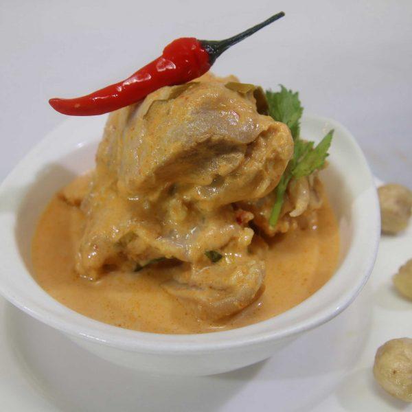 Chicken In Spicy Coconut Gravy