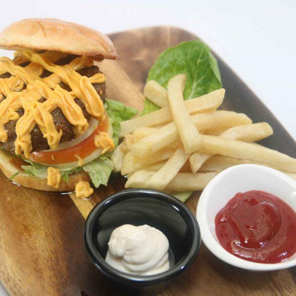 Classic Temasek Burger